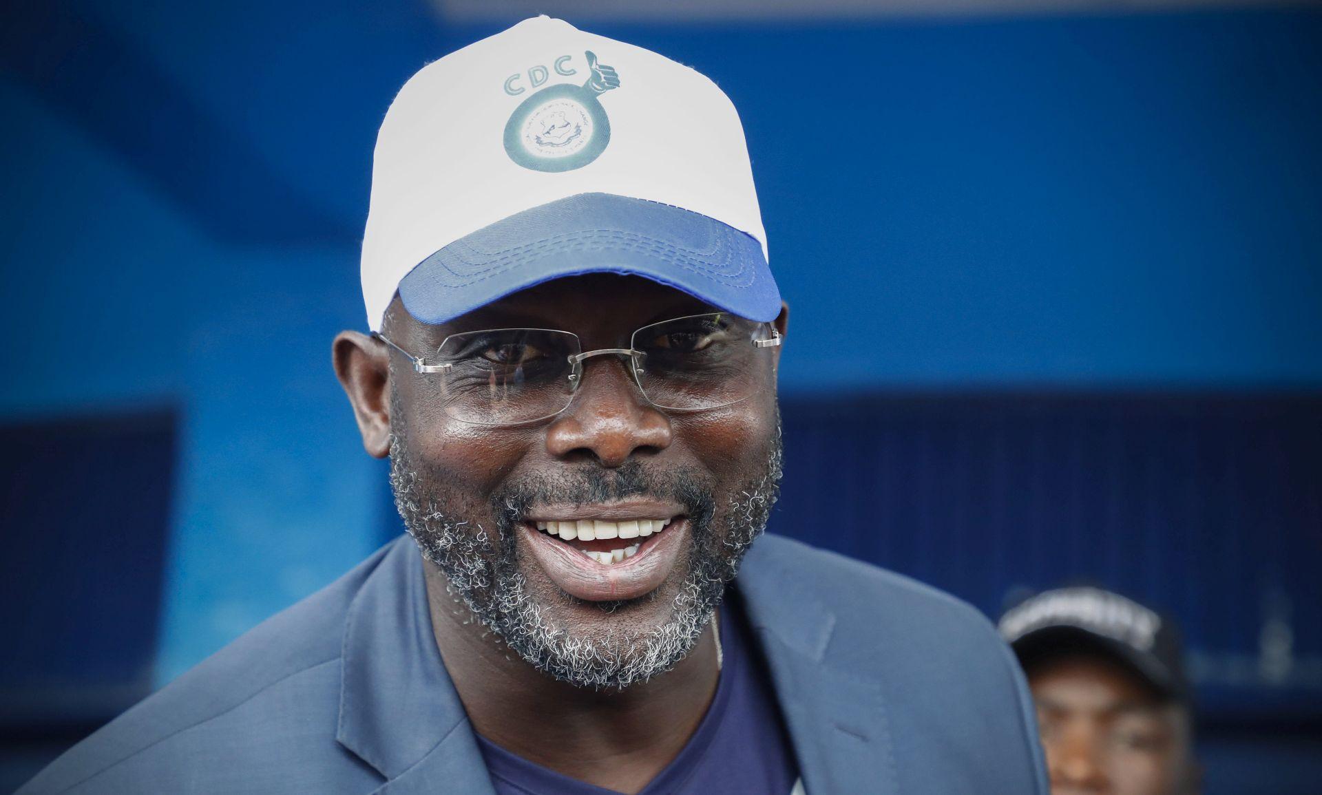 Bivši nogometaš George Weah postao predsjednik Liberije