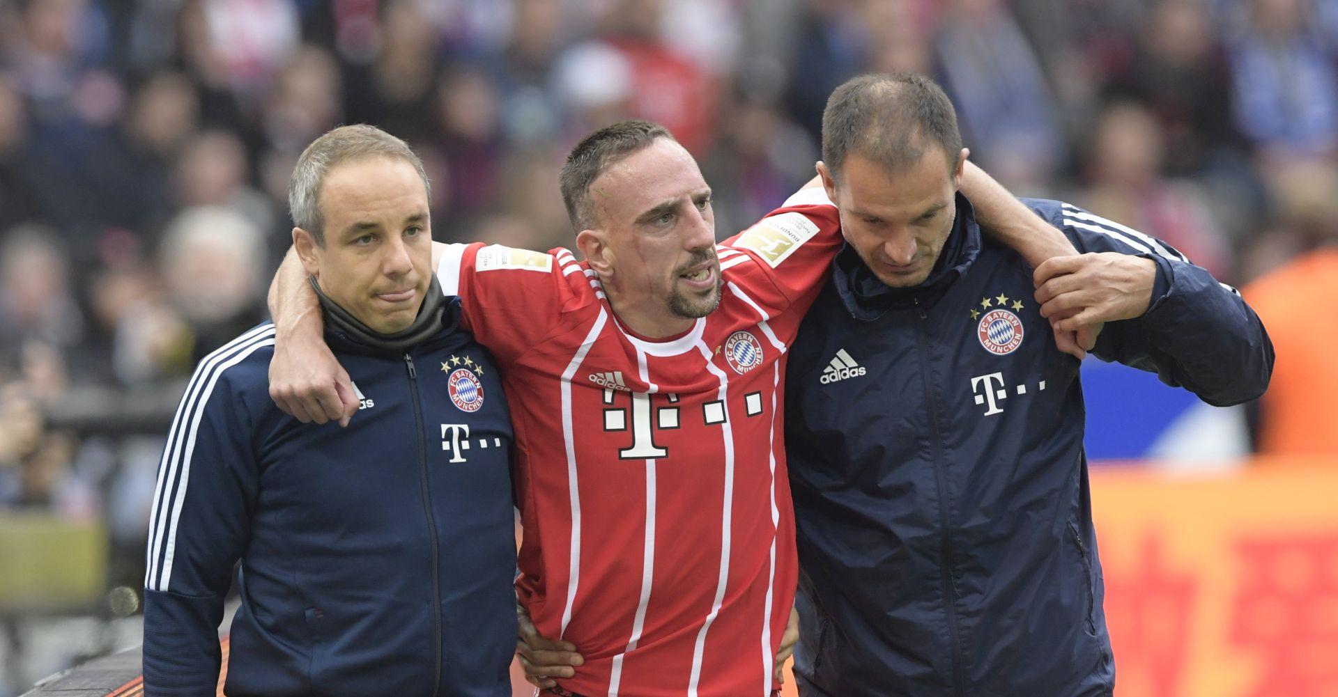 BAYERN Ribéryju 'otišli' ligamenti lijevog koljena