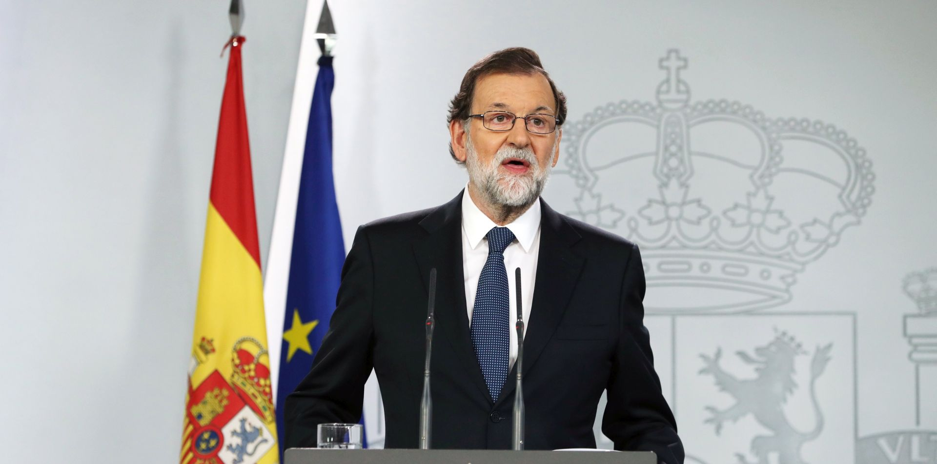 """RAJOY """"Za ozlijeđene u Kataloniji odgovorna je katalonska vlada"""""""