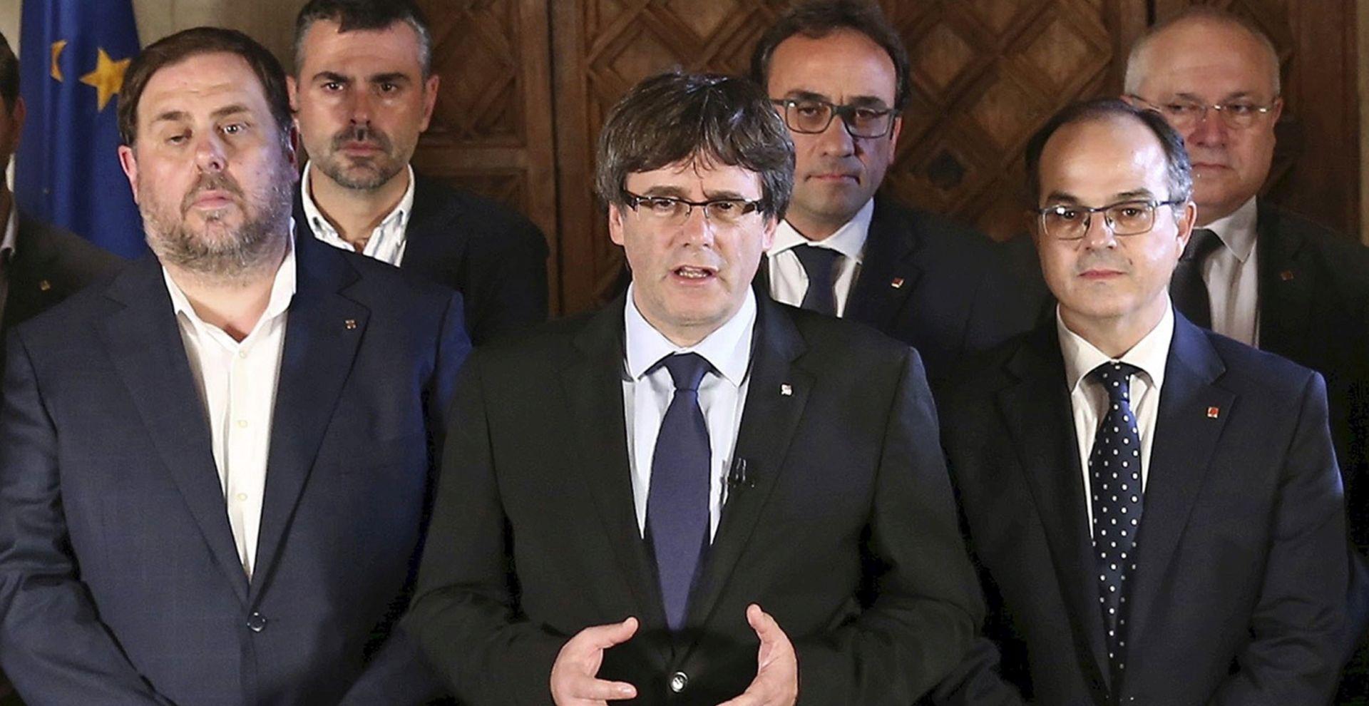KATALONSKI PREDSJEDNIK 'Ostvareno pravo da Katalonija bude nezavisna država'