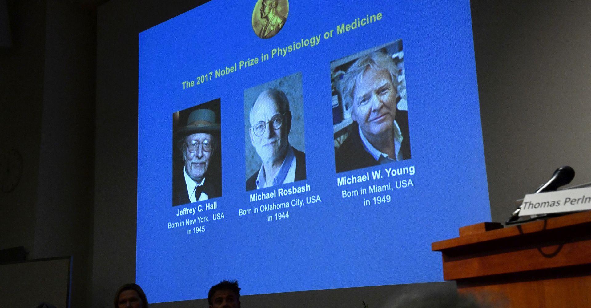 Nobelova nagrada američkim znanstvenicima koji su objasnili biološki sat
