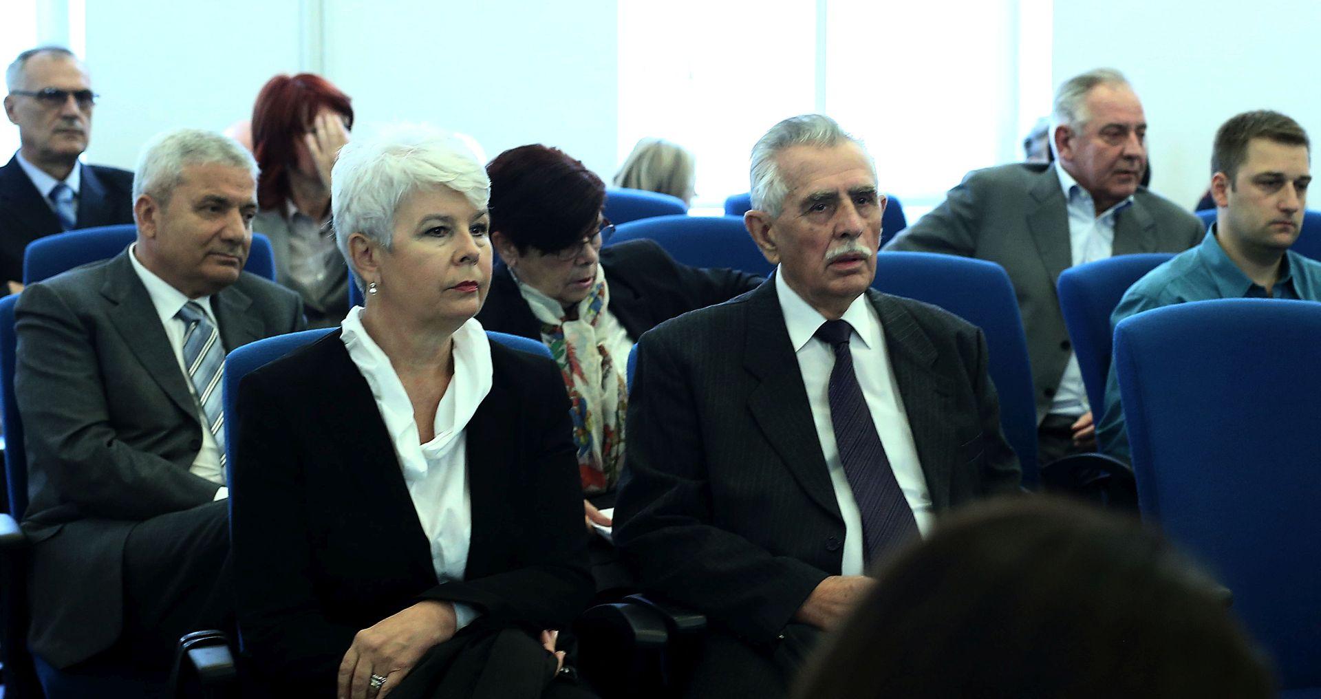 FIMI MEDIA Sanader i Kosor se u sudnici uzajamno prozivali zbog laži