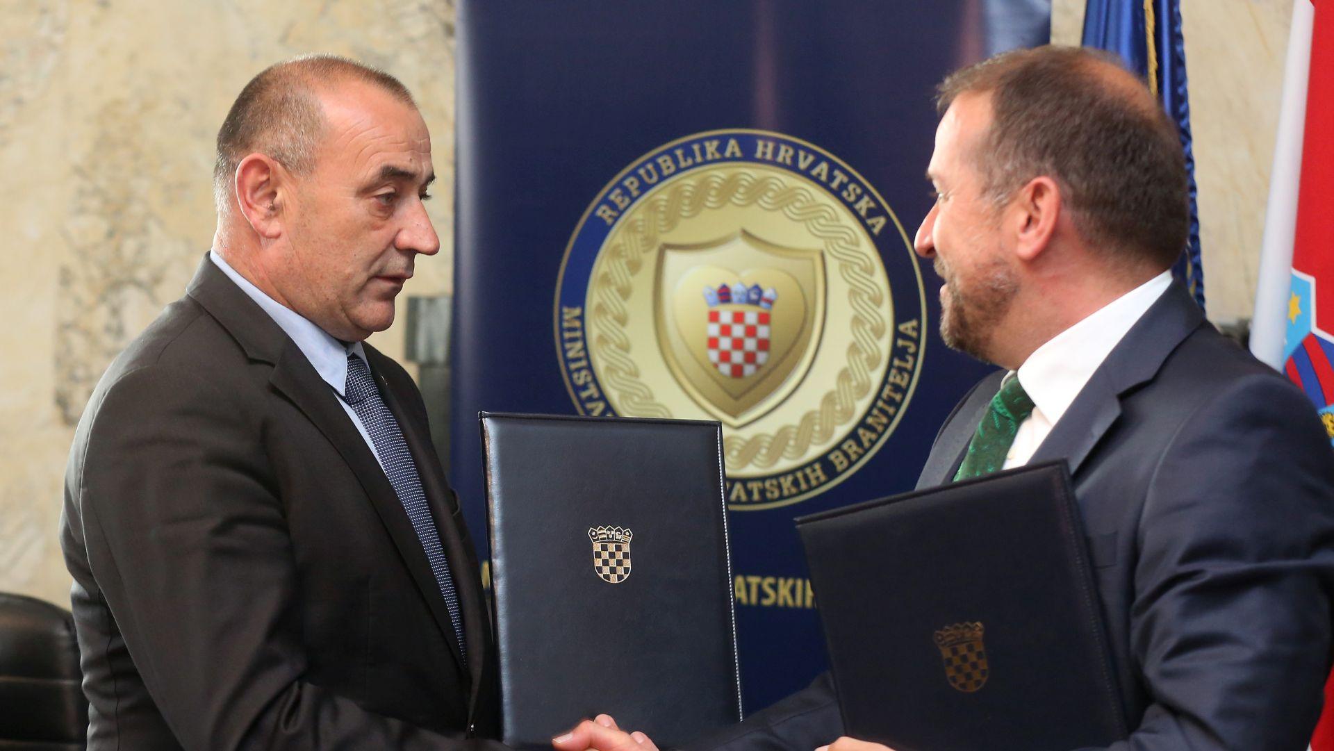 HPB i Ministarstvo potpisali protokol o stambenom kreditiranju hrvatskih branitelja