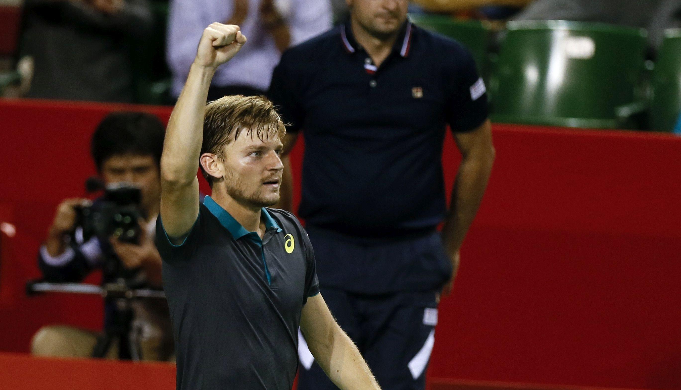 ATP 'masters': David Goffin posljednji polufinalist