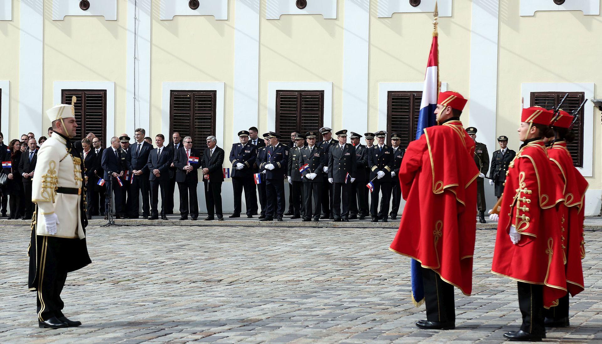 Na Markovom trgu obilježena 26. obljetnica Dana neovisnosti