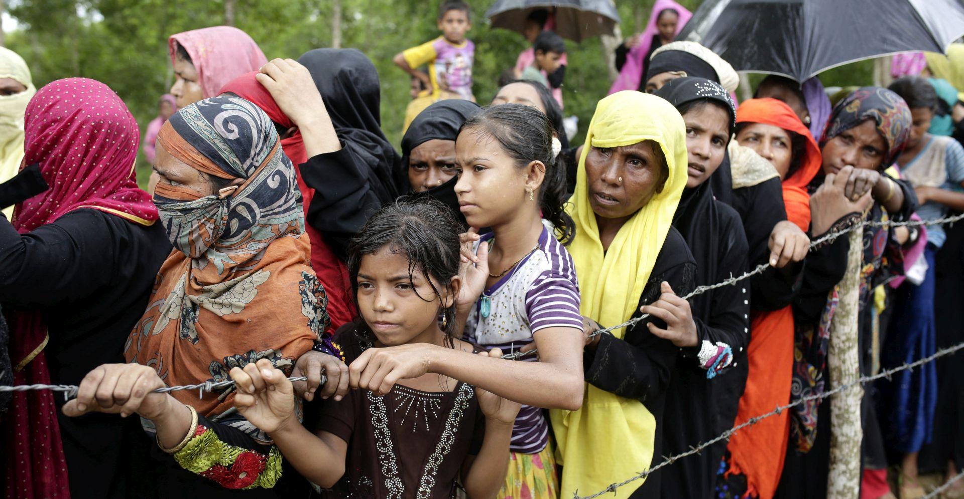 Sve veći egzodus Rohindža iz Mjanmara u kojemu nasilje još traje
