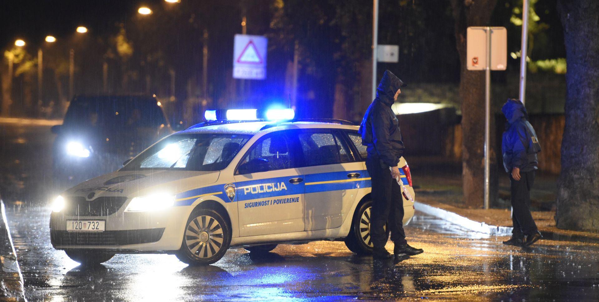 Splitska policija uhitila i drugog provalnika; jedan policajac teže ozlijeđen