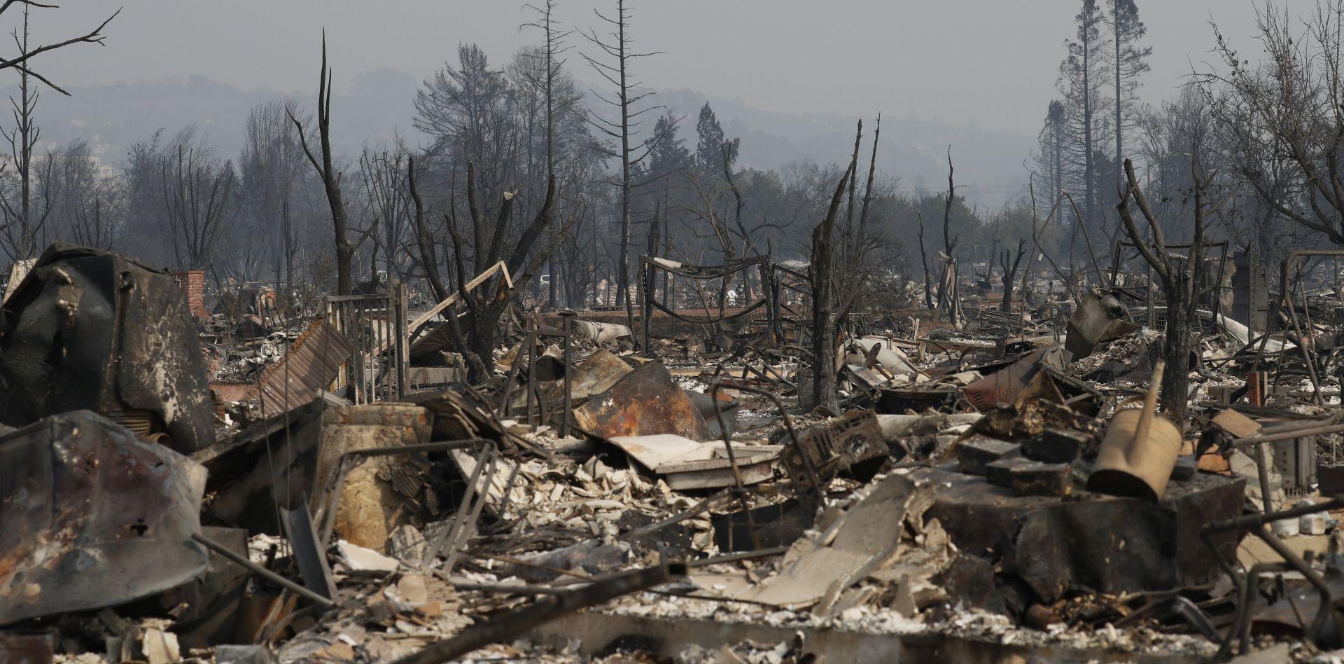 KALIFORNIJA U PLAMENU Najmanje 17 osoba poginulo, više od 150 nestalih
