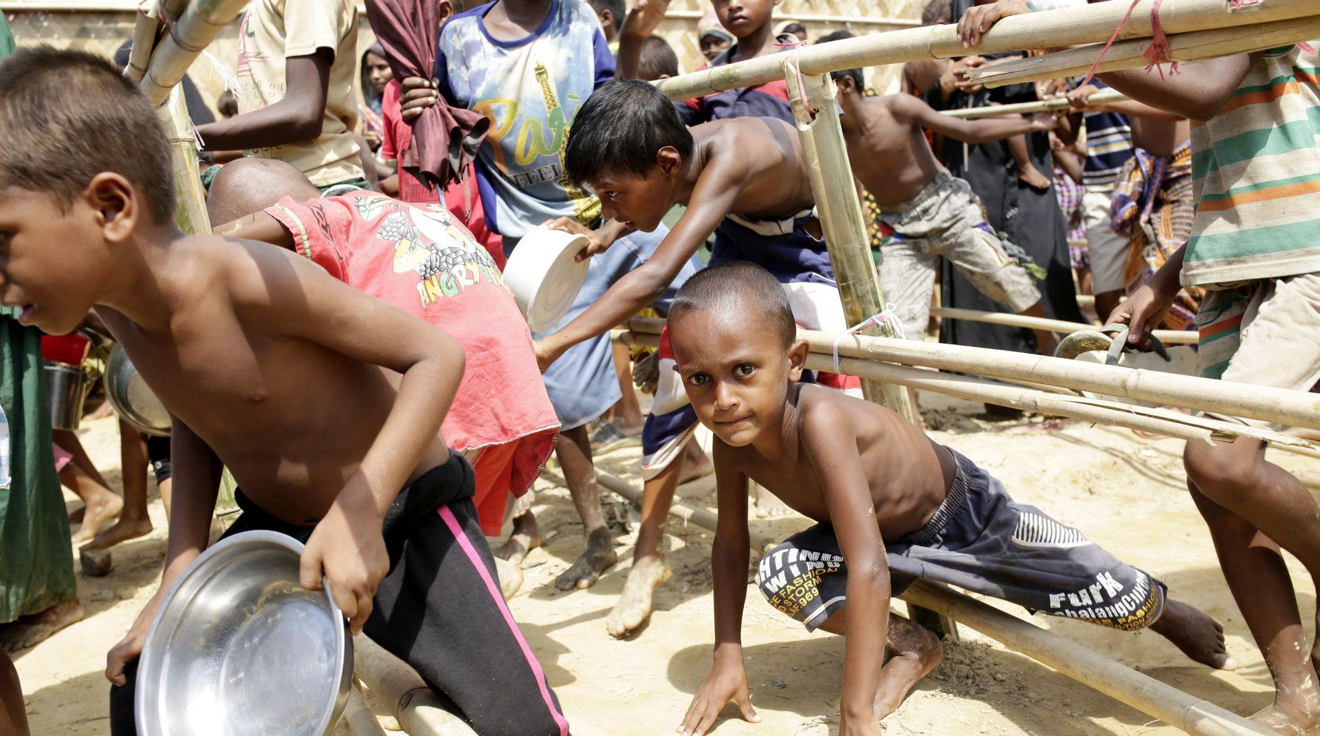 UNICEF Izbjeglički pakao djece Rohindža u Bangladešu