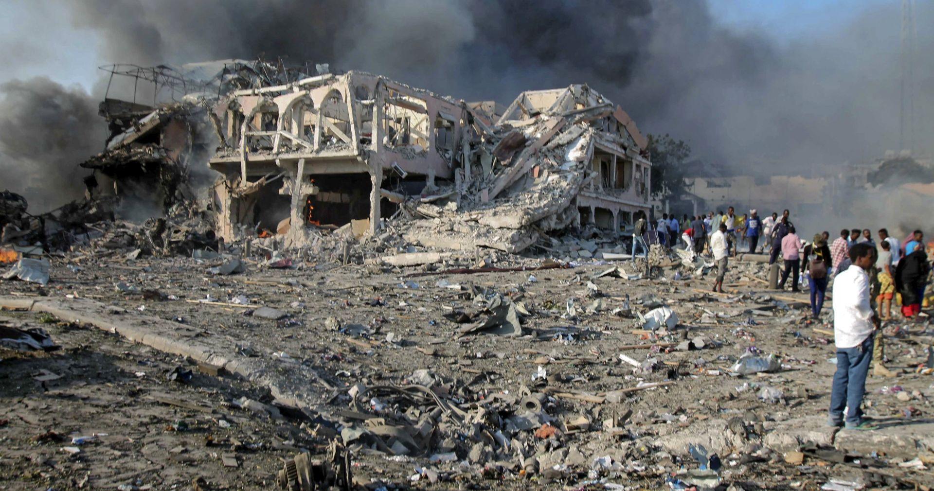 SOMALIJA Pokopano 165 neidentificiranih žrtava bombaškog napada