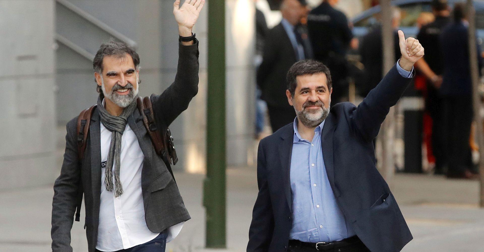 Španjolski Visoki sud pritvorio dva katalonska separatistička čelnika