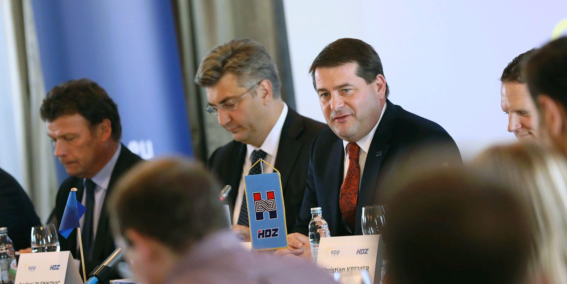 Dužnosnici EPP-a u Zagrebu započeli pripreme za izbore za Europski parlament 2019.