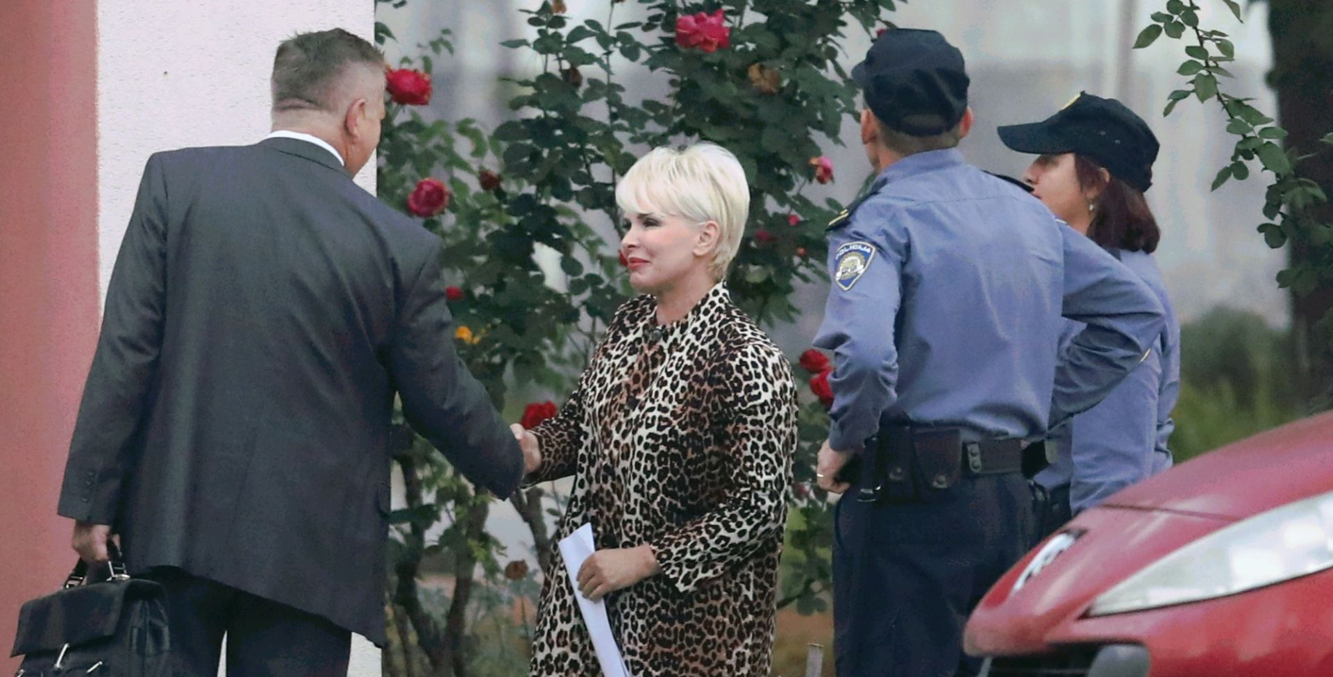 VIDEO: DIRLJIVO Canjuga dočekao Pirušku pred zatvorom: Radostan sam jer se supruga vraća kući djeci