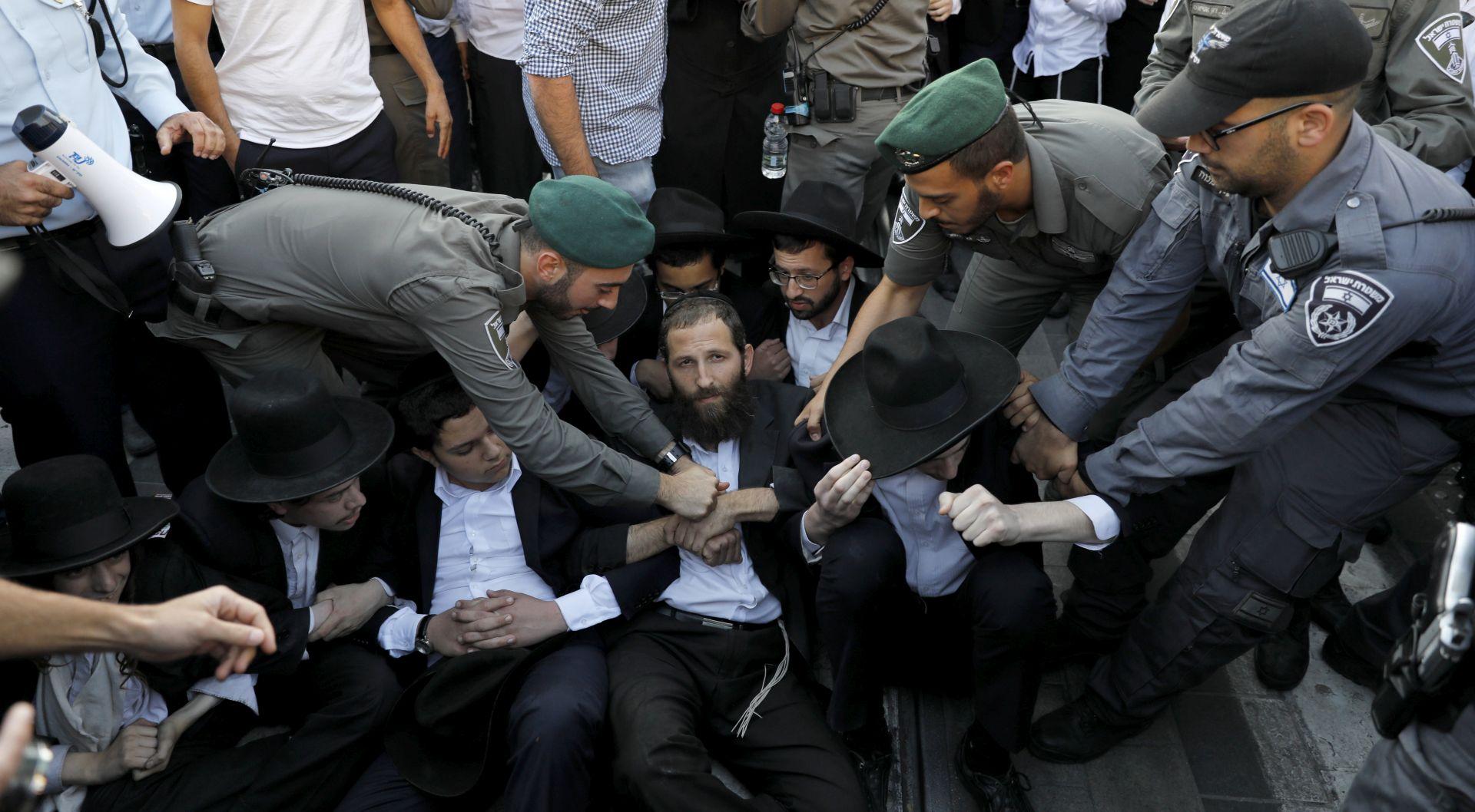 IZRAEL Tisuće prosvjeduju protiv obaveznog služenja vojnog roka