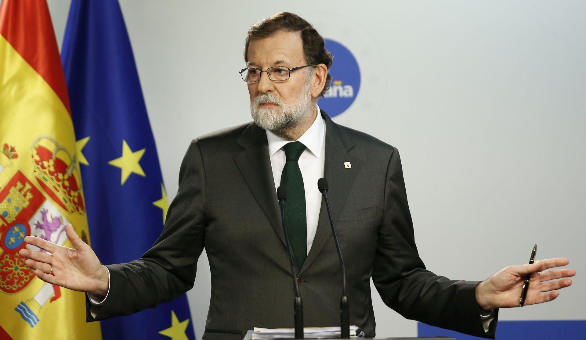 RAJOY 'Sutra ćemo otkriti mjere za Kataloniju'