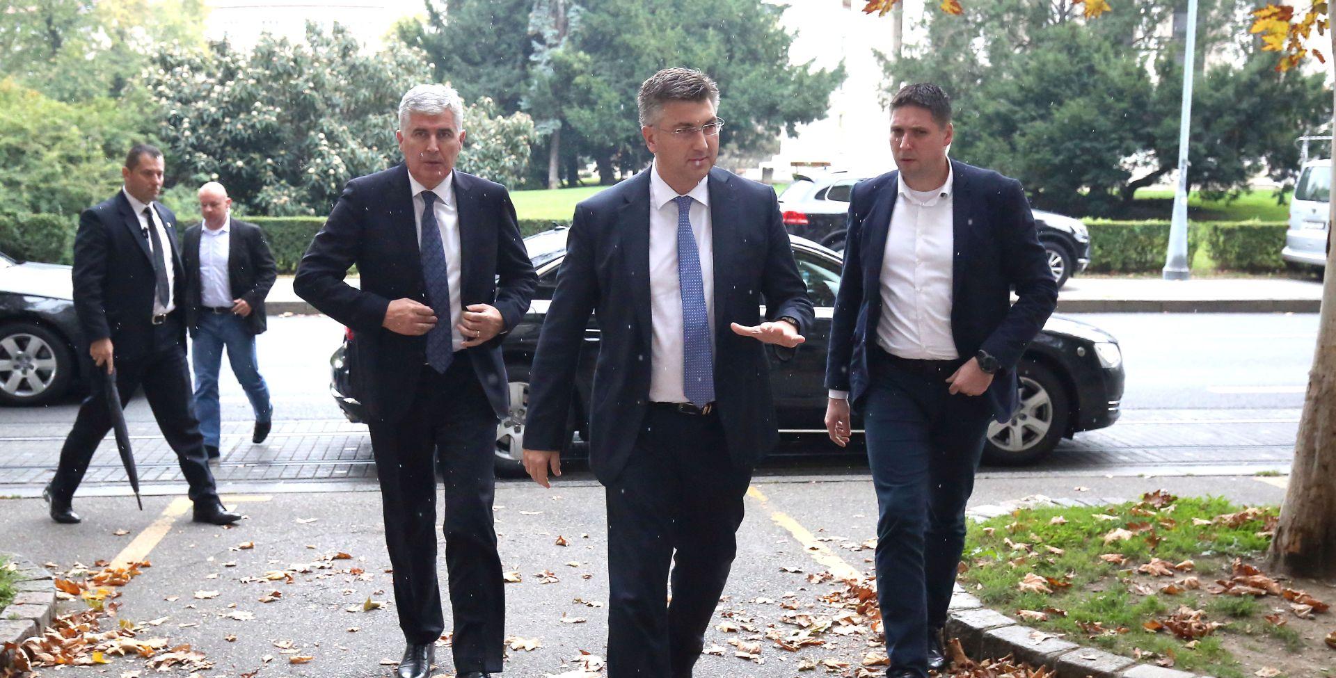 PLENKOVIĆ I ČOVIĆ 'Za HDZ važno da izborni sustav u BiH bude pravičan'