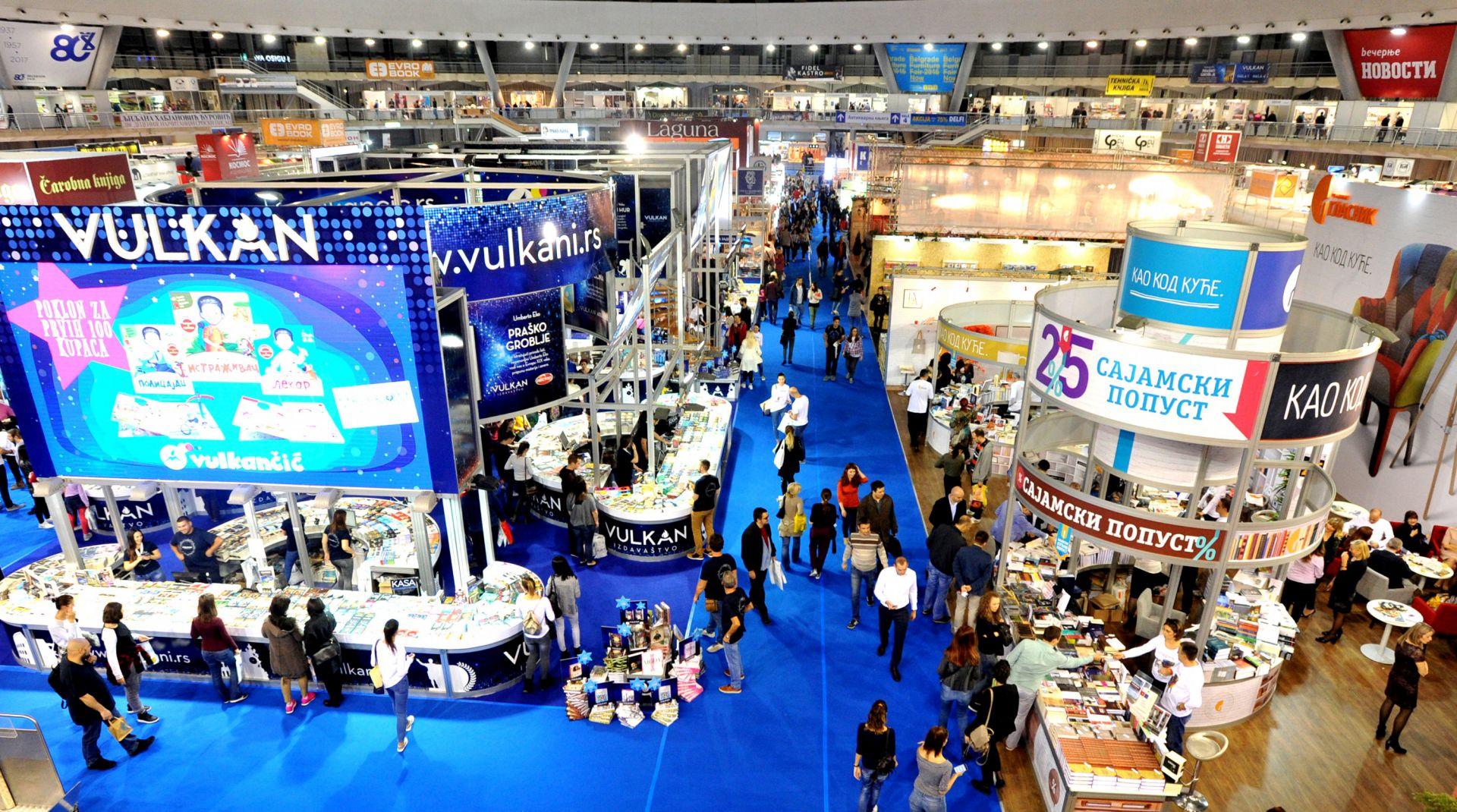 BEOGRAD Otvoren 62. međunarodni sajam knjiga