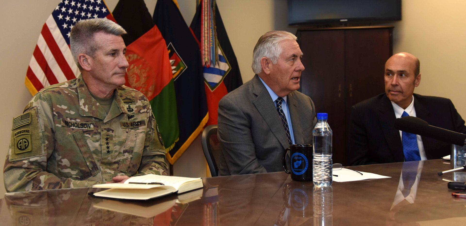 Američki državni tajnik Tillerson sastaje se u Bagdadu s iračkim čelnicima