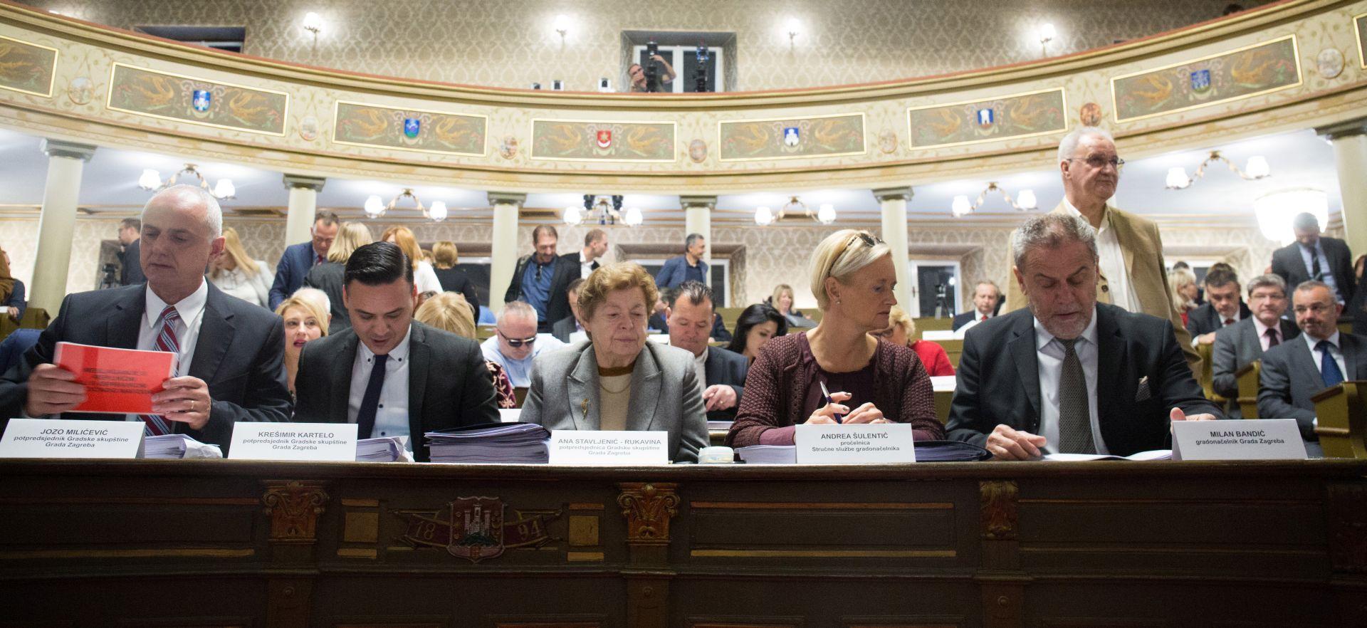 ZAGREB Rebalansom gradski proračun smanjen 70 milijuna kuna