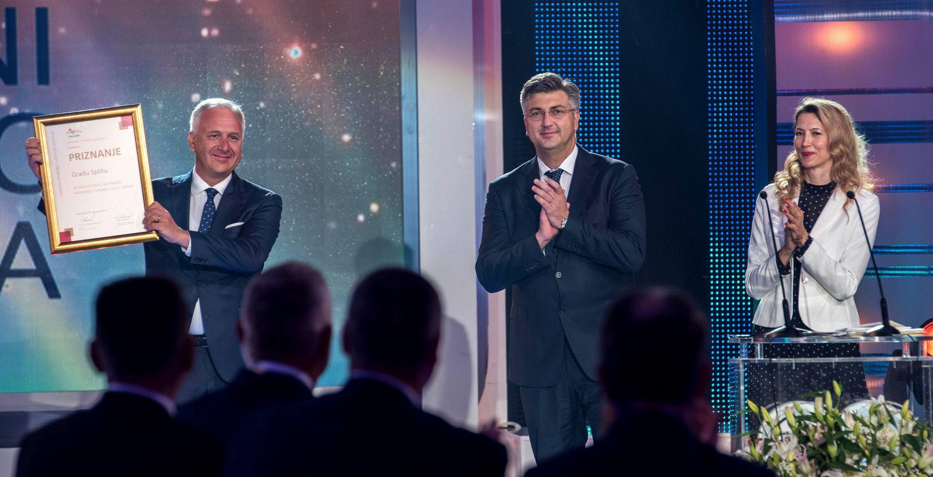 DAN HRVATSKOG TURIZMA Split turistička destinacija godine, Niki Buliću nagrada za životno djelo