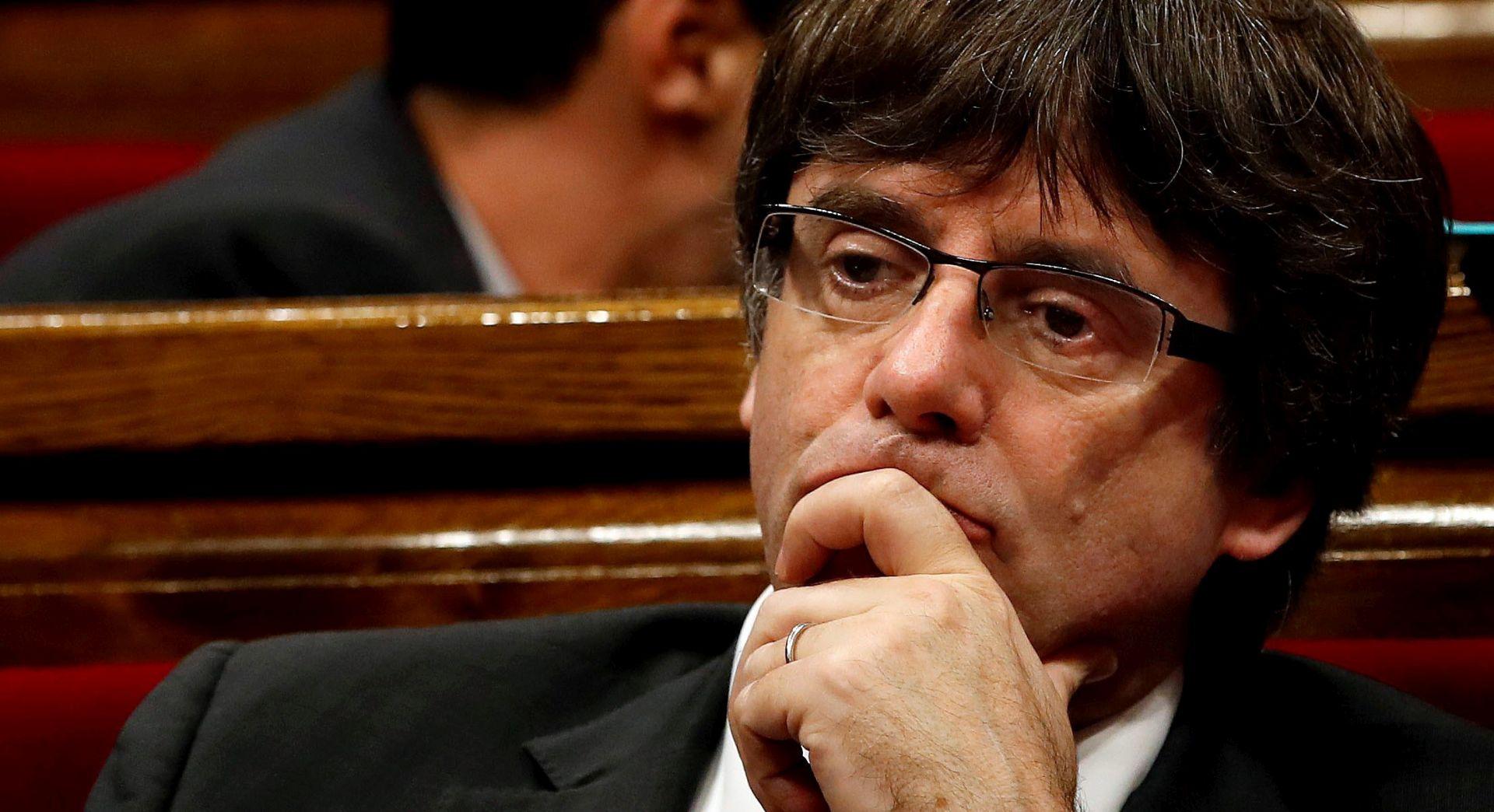 Zatraženo izdavanje europskog uhidbenog naloga za katalonskog predsjednika