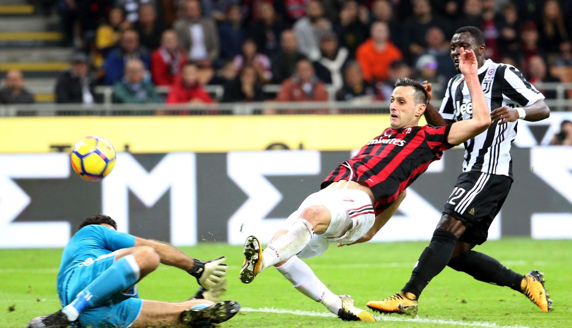 SERIE A Juventus nanio peti poraz Milanu, Mandžukiću i Kaliniću cijela utakmica