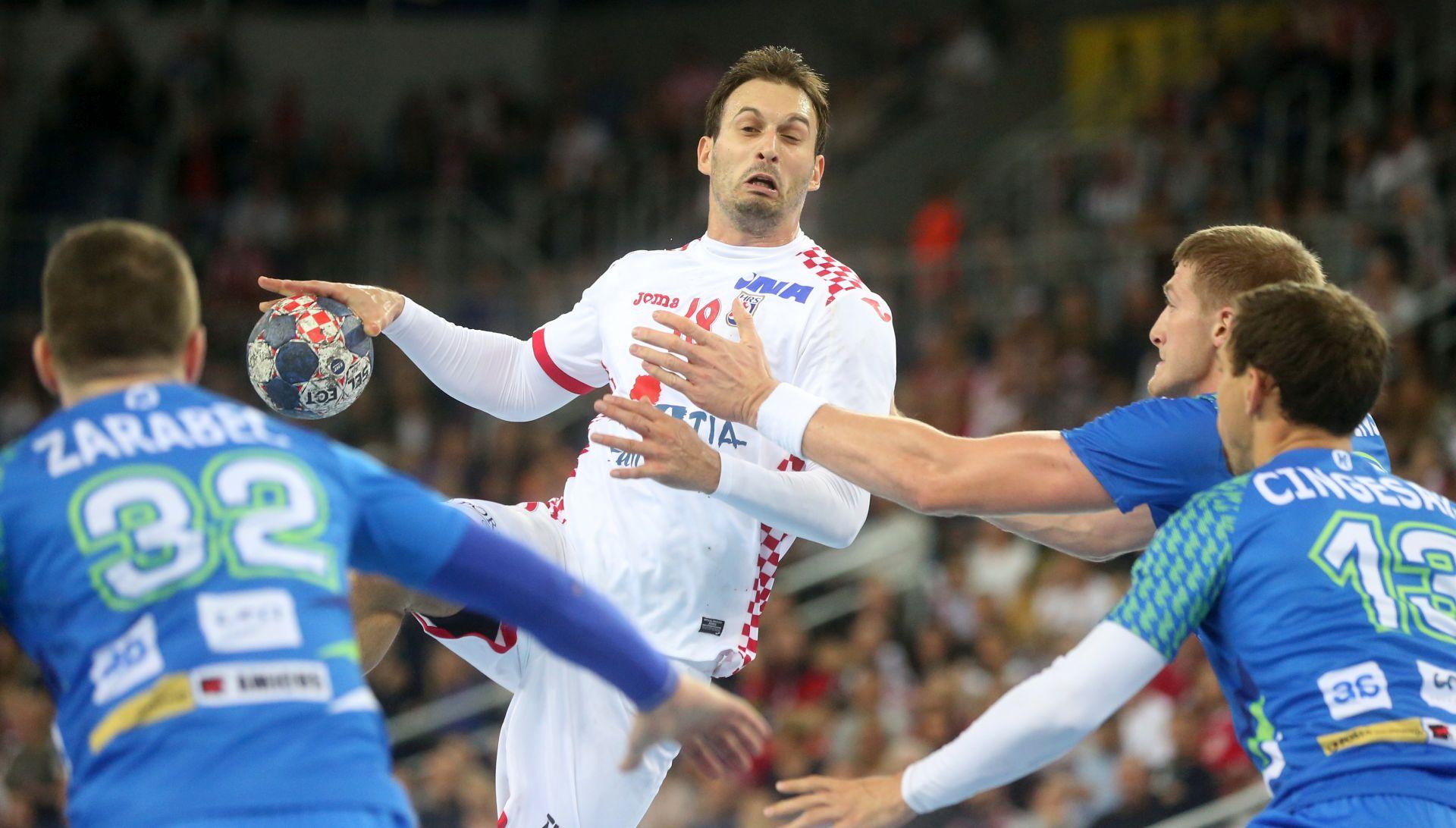 RUKOMET Hrvatska slavila protiv Slovenije (21:20)