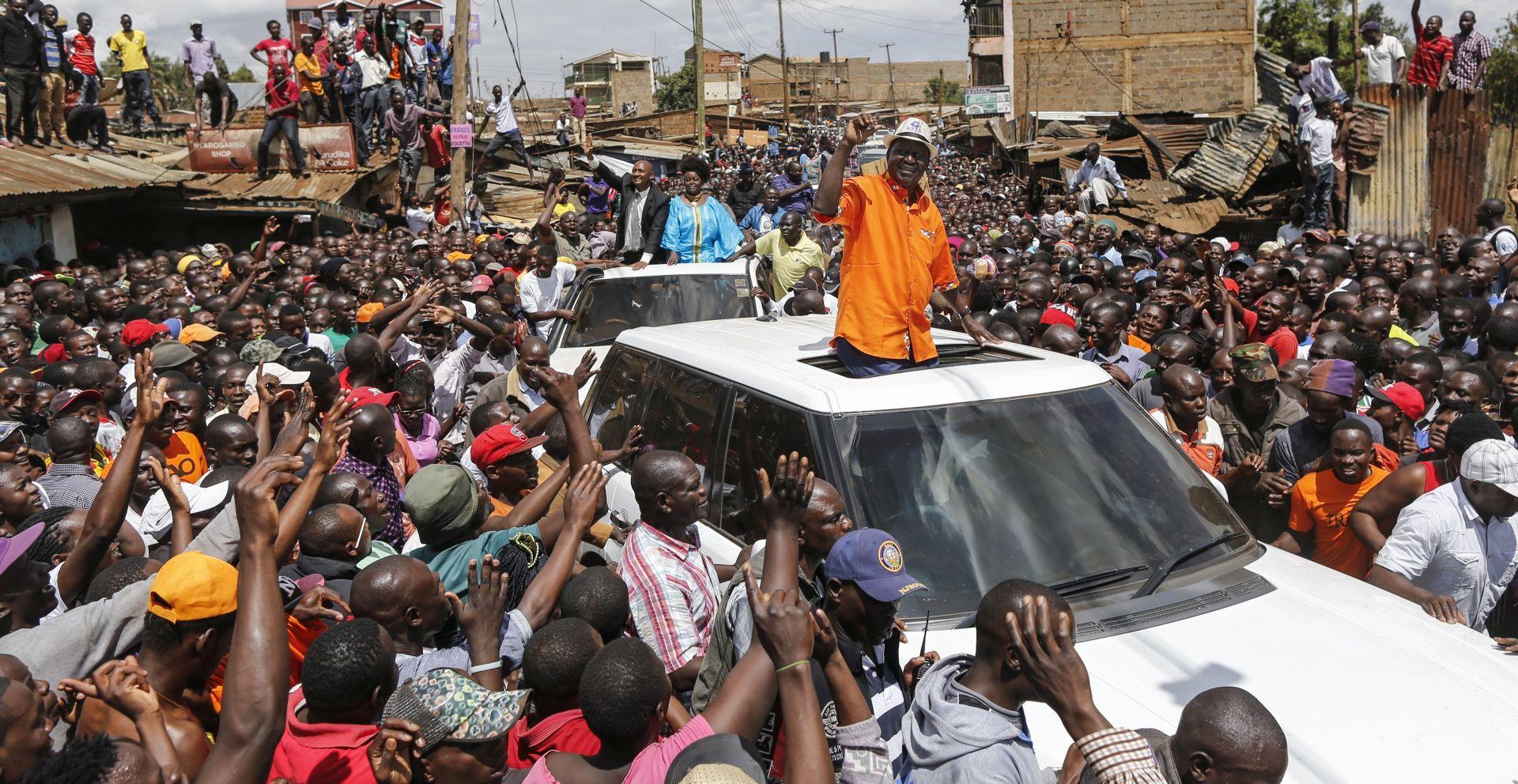 Kenijski predsjednik Kenyatta izabran s čak 98 posto glasova