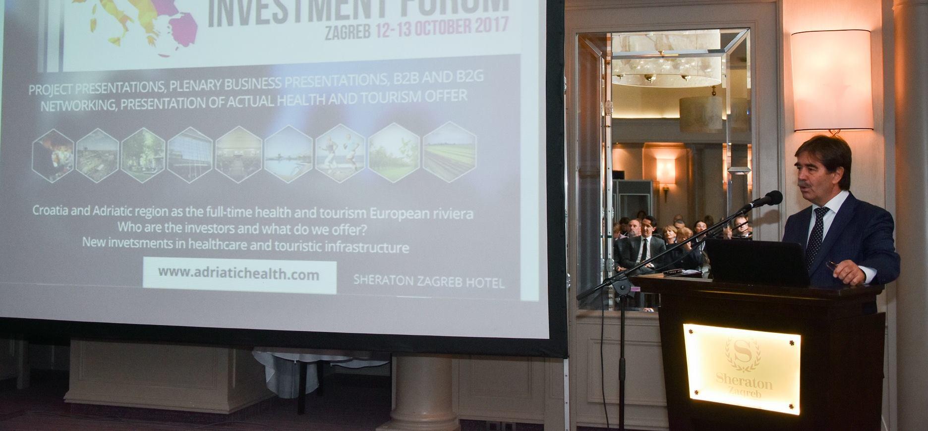 FOTO: Sečano otvoren prvi 'Investicijski forum zdravlja i turizma Adriatic regije'