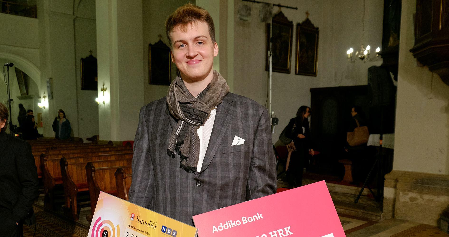 Pijanist Ivan Vihor Krsnik Čohar pobjednik je natjecanja mladih glazbenika Ferdo Livadić