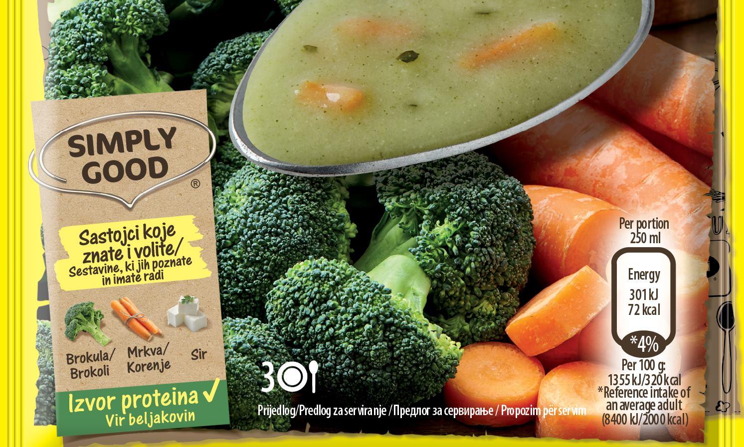 Nove MAGGI krem juhe sadrže sastojke koje znate i volite