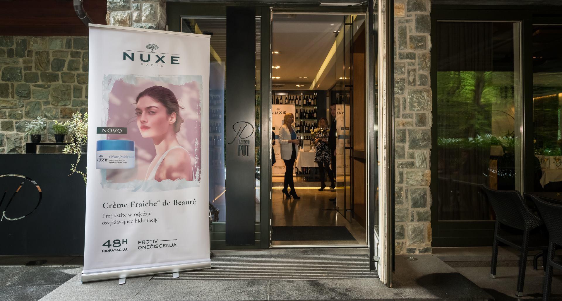 FOTO: Predstavljanje nove NUXE Crème Fraîche de Beauté linije