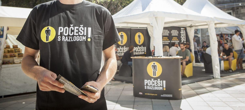 FOTO: Novi rezultati kampanje 'Počeši s razlogom'