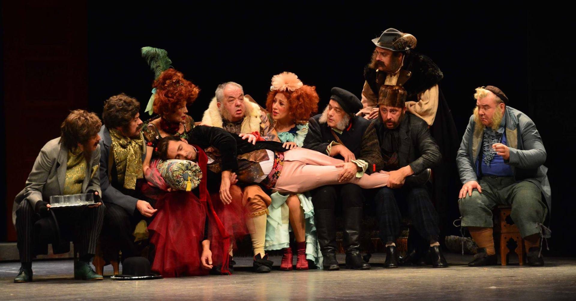 FOTO: Izvedba prve ovosezonske premijere Kazališta Komedija