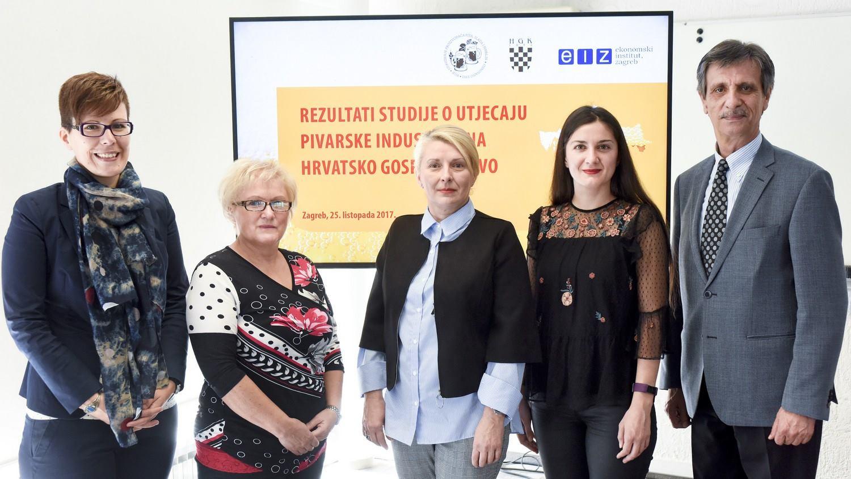 EKONOMSKI INSTITUT ZAGREB Industrija piva generira 1.8 % hrvatskog BDP-a