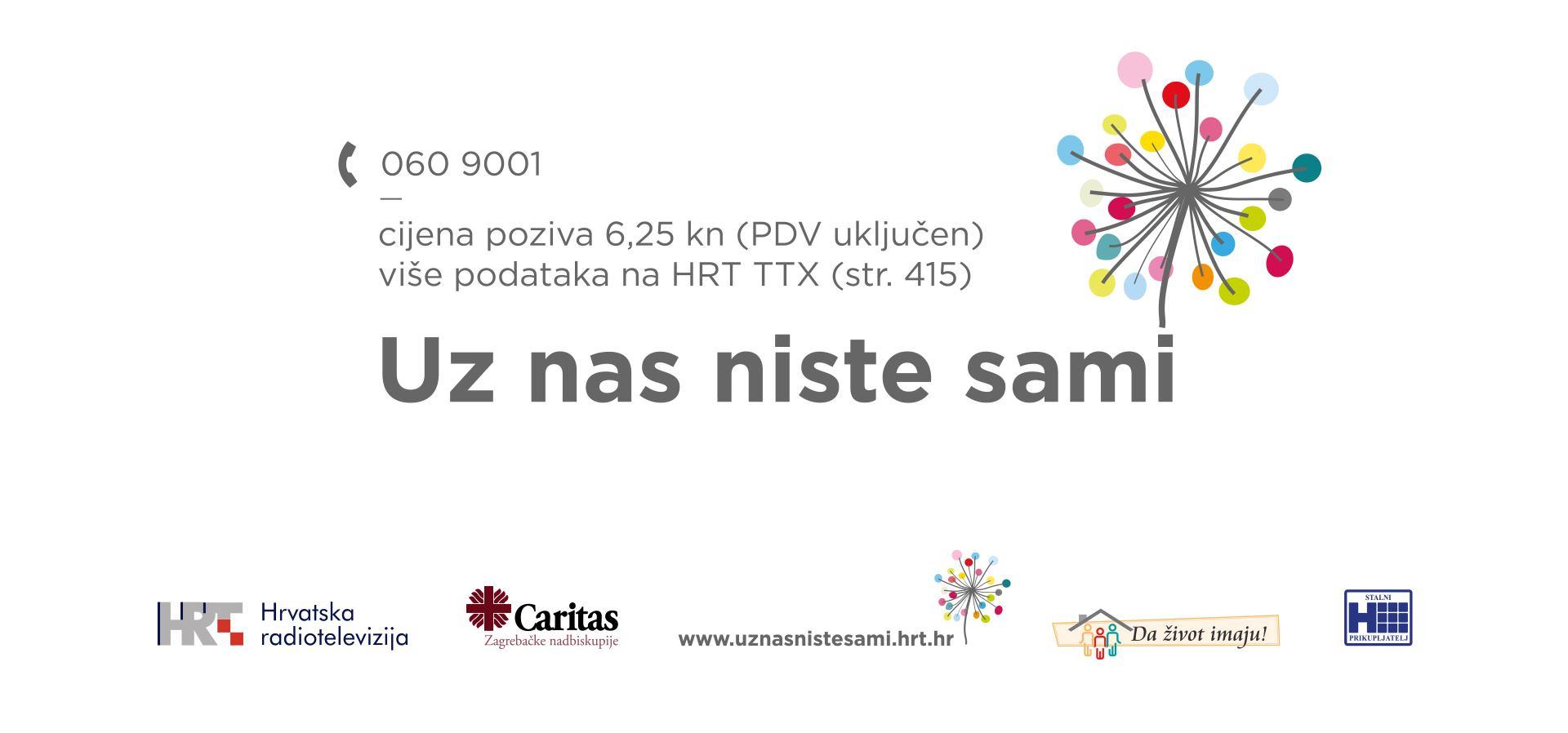 Na Hrvatskoj radioteleviziji počinje humanitarni tjedan posvećen Caritasovoj humanitarnoj akciji