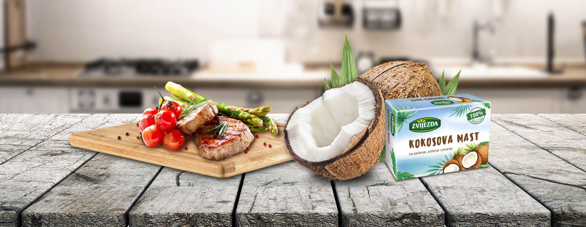 ZVIJEZDA KOKOSOVA MAST Dašak egzotike i zdravlja u pripremi tradicionalnih zalogaja