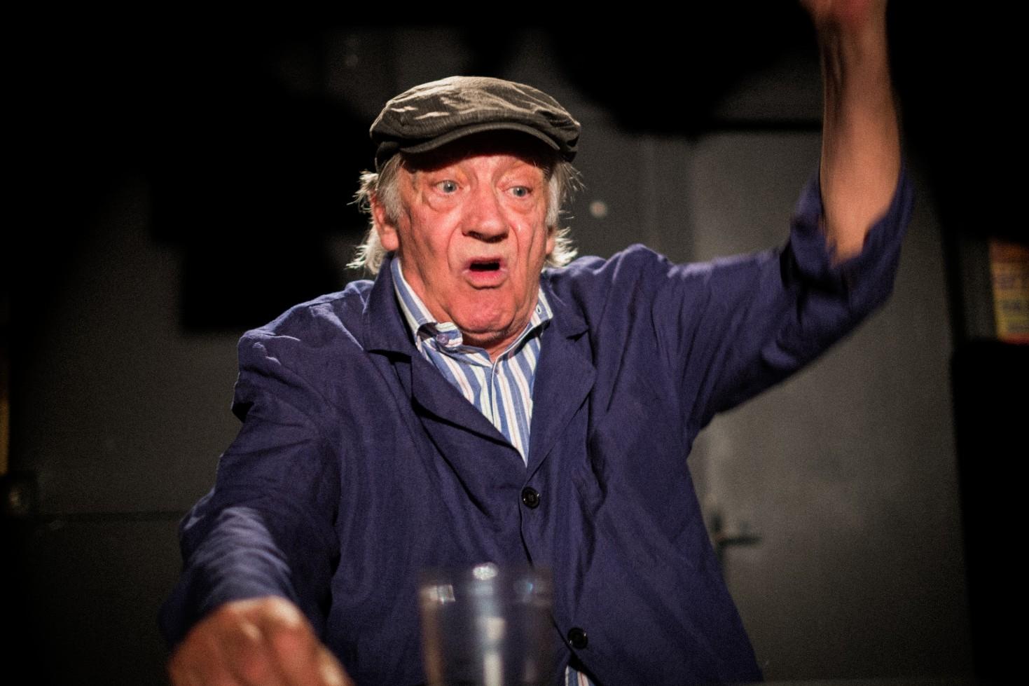 FOTO: Žarko Potočnjak obilježava 50 godina rada u kazalištu monodramom 'Zvjezdani trenutak Josipa Bizjaka'