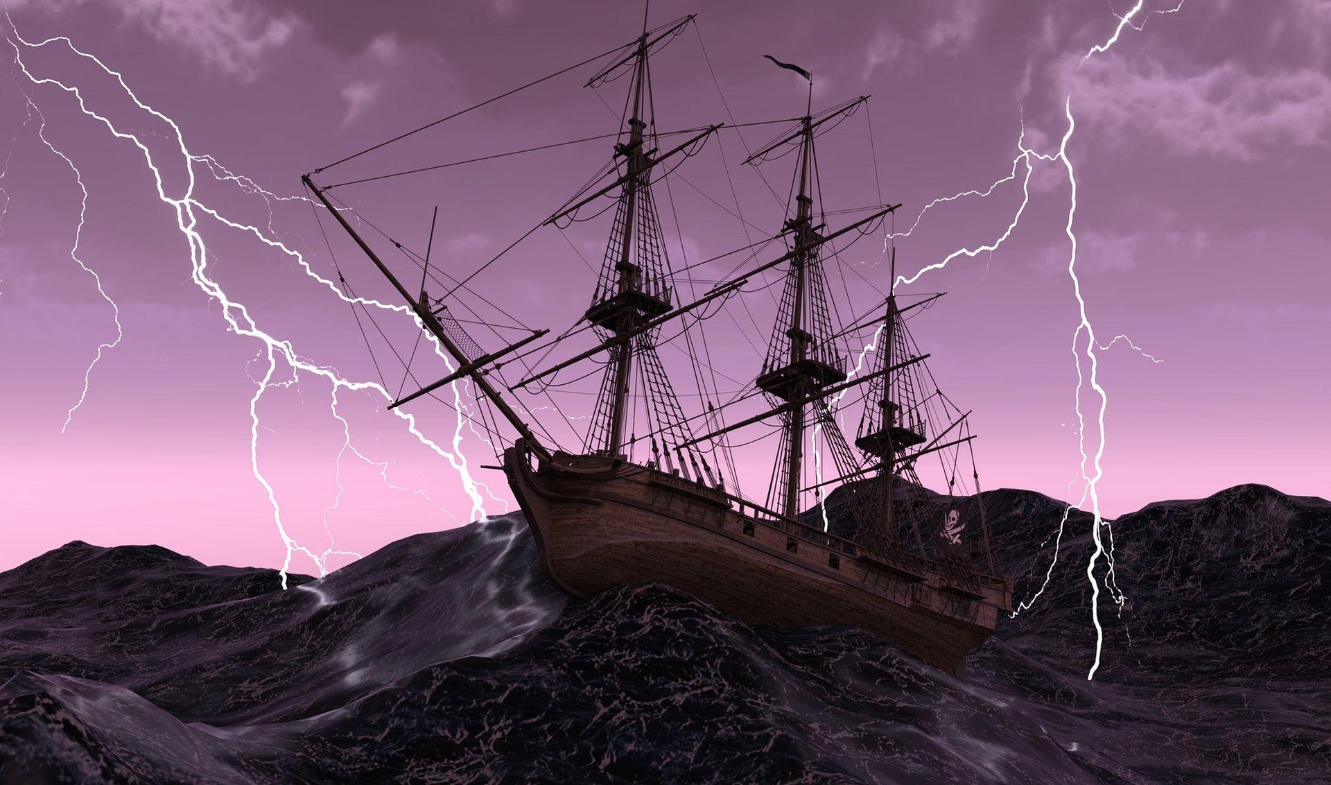 Olujni vjetar s kišom rušio stabla, trgao tende u Dubrovniku