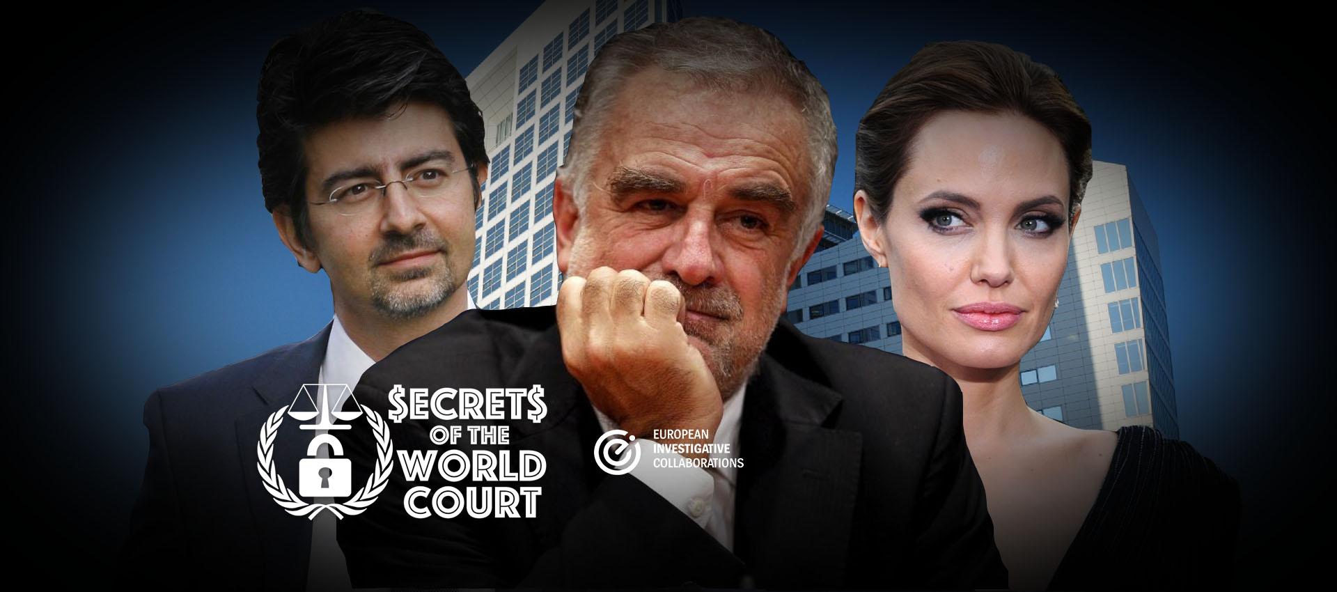 Angelina Jolie, Omidyar i Katar: tajni kabinet tužitelja Ocampe