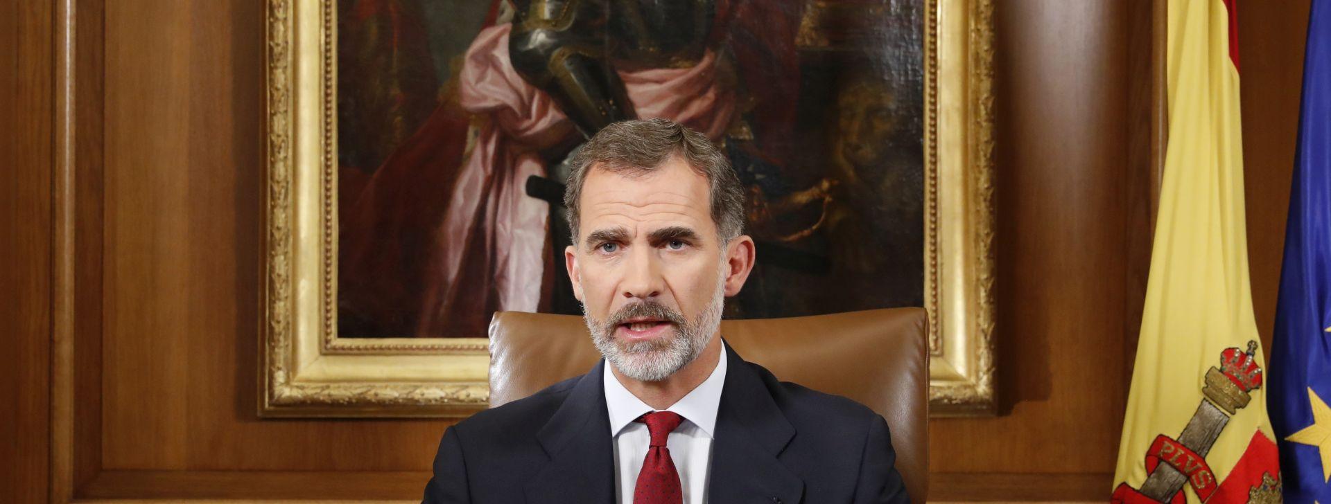 """Španjolski kralj kaže da je Katalonija """"bitan dio Španjolske 21. stoljeća"""""""