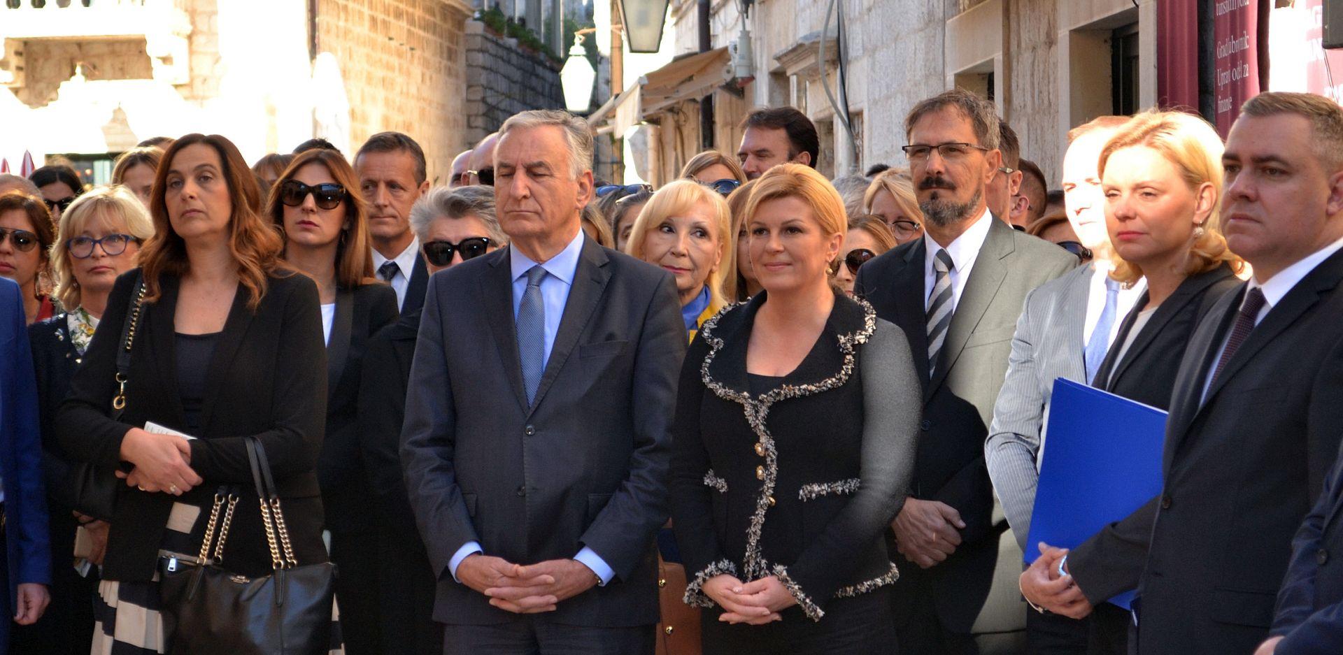 Predsjednica Grabar-Kitarović otvorila privremeni Ured u Dubrovačko-neretvanskoj županiji