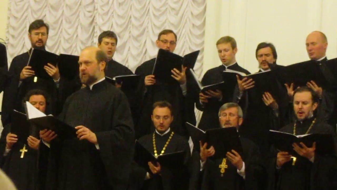 VIDEO: LISINSKI SUBOTOM Zbor svećenika Sanktpeterburške mitropolije