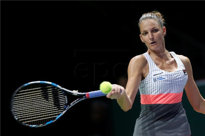 WTA FINALS Karolina Pliškova uvjerljiva protiv Venus Williams