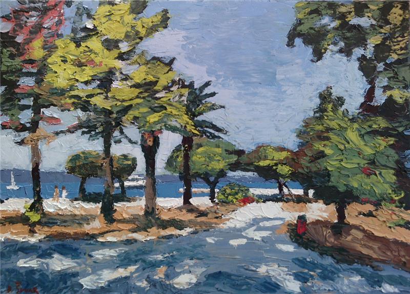 Otvorena izložba slika 'Mare Adriatico – priroda, mit i kultura'