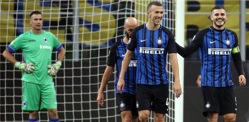 Inter – Sampdoria 3-2, asistencija Perišića