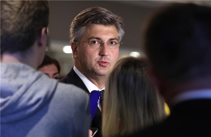Plenković kaže da nema potrebe za posredovanjem u rješavanju graničnog prijepora sa Slovenijom
