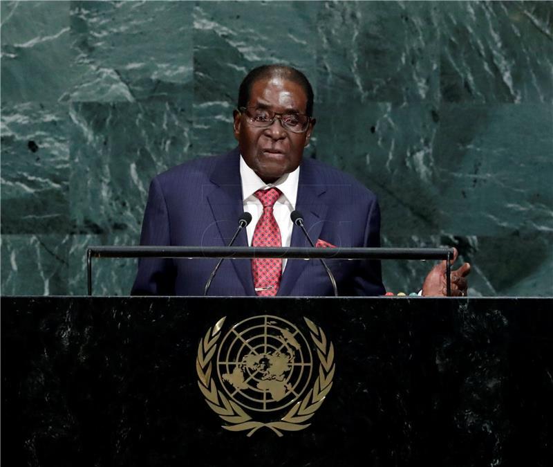 Skandal nakon imenovanja Mugabea ambasadorom dobre volje WHO-a