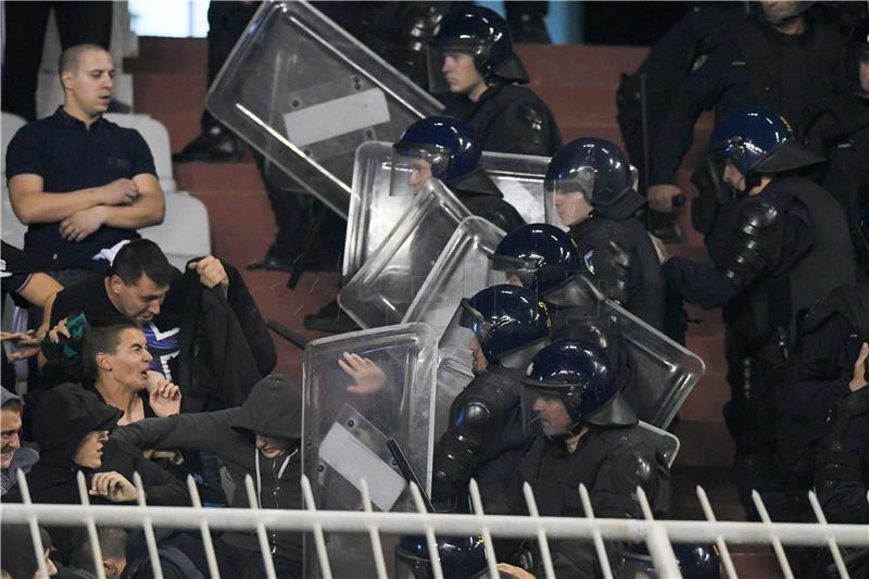 U Splitu tijekom utakmice privedeno 39 osoba