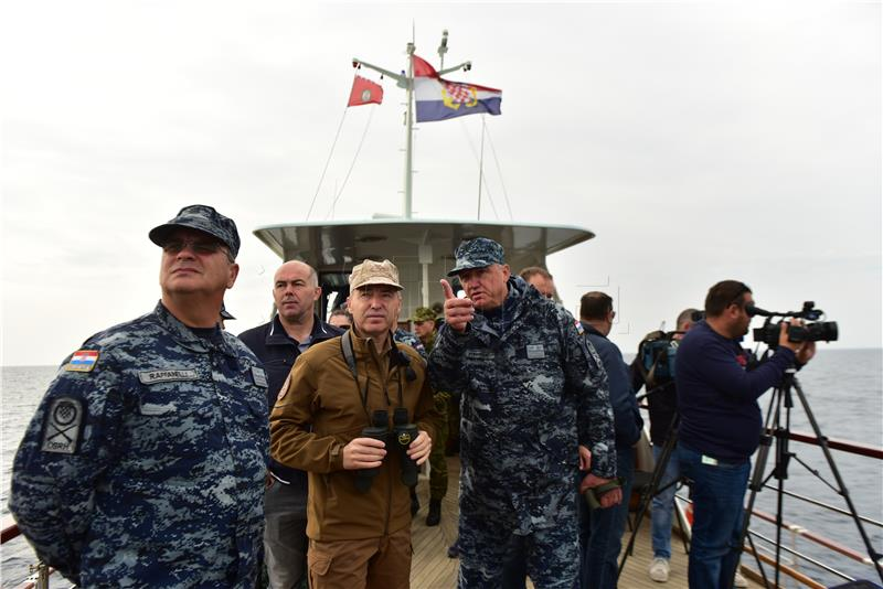 KRSTIČEVIĆ 'Vježba HARPUN '17 pokazala da je HRM jamac sigurnosti na moru'